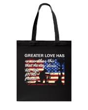 Greater Love  Tote Bag thumbnail