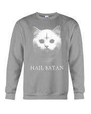 Hail satan Crewneck Sweatshirt thumbnail