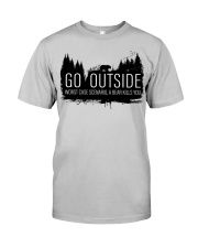 Camping GO Outside - Hoodie And T-shirt Classic T-Shirt thumbnail