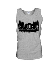 Camping GO Outside - Hoodie And T-shirt Unisex Tank thumbnail