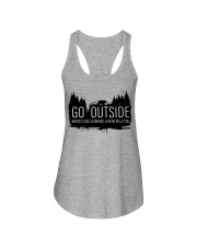 Camping GO Outside - Hoodie And T-shirt Ladies Flowy Tank thumbnail