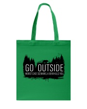 Camping GO Outside - Hoodie And T-shirt Tote Bag thumbnail