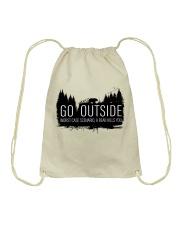 Camping GO Outside - Hoodie And T-shirt Drawstring Bag thumbnail