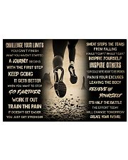 Running Challenge Your Limits 36x24 Poster front