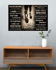 Running Challenge Your Limits 36x24 Poster poster-landscape-36x24-lifestyle-21