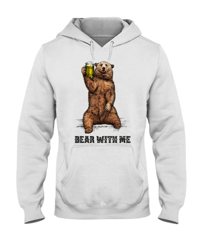 Camping Bear With Me - Hoodie And T-shirt