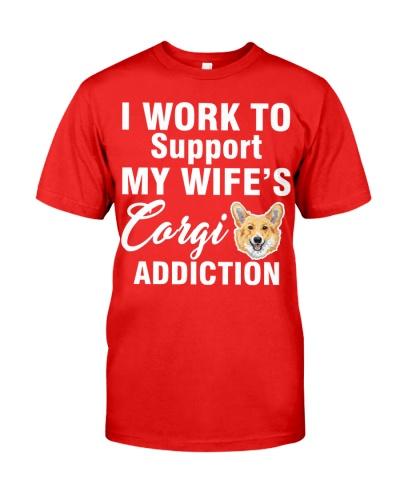 My wife's corgi
