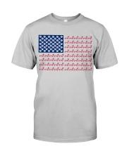 dachshund flag Classic T-Shirt thumbnail