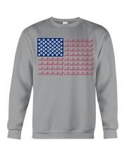 dachshund flag Crewneck Sweatshirt thumbnail