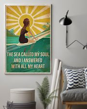 Surfing The Sea Called My Soul 16x24 Poster lifestyle-poster-1