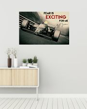 Racing Fear Is Exciting For Me 36x24 Poster poster-landscape-36x24-lifestyle-01