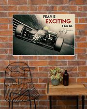 Racing Fear Is Exciting For Me 36x24 Poster poster-landscape-36x24-lifestyle-20