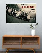 Racing Fear Is Exciting For Me 36x24 Poster poster-landscape-36x24-lifestyle-21