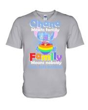 lgbt V-Neck T-Shirt thumbnail