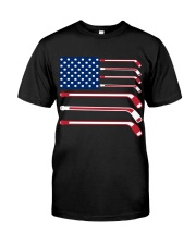 Hockey Flag Classic T-Shirt front