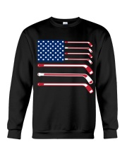 Hockey Flag Crewneck Sweatshirt thumbnail