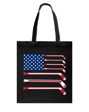 Hockey Flag Tote Bag thumbnail
