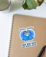 Family Sisters Sisters Sticker - Single (Vertical) aos-sticker-single-vertical-lifestyle-front-16