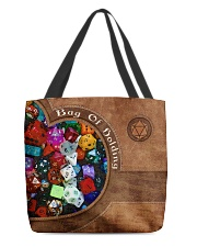 Game Bag Of Holding Leather Pattern Print All-over Tote back
