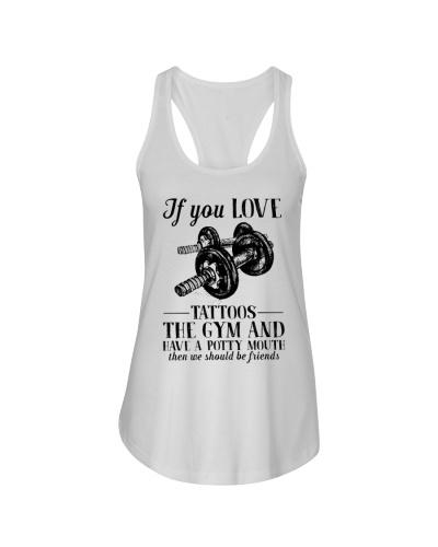Gym You Love Tattoos The Gym