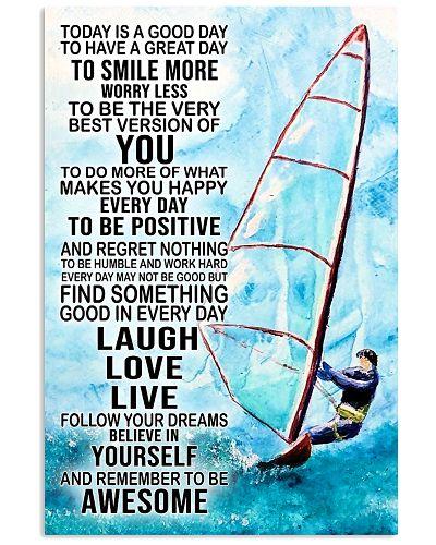 Windsurfing Laugh Love Live