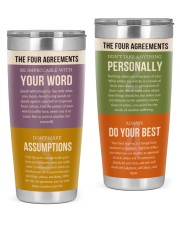 Mental The Four Agreements 20oz Tumbler front