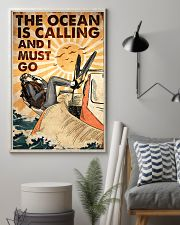 Scuba The Ocean Is Calling 16x24 Poster lifestyle-poster-1