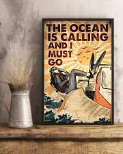 Scuba The Ocean Is Calling 16x24 Poster lifestyle-poster-3
