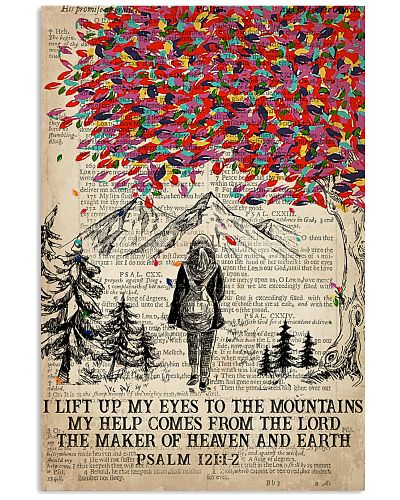 Hiking I Lift Up My Eyes To The Mountains