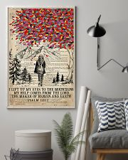 Hiking I Lift Up My Eyes To The Mountains 16x24 Poster lifestyle-poster-1