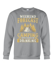 Camping Drinking Crewneck Sweatshirt thumbnail