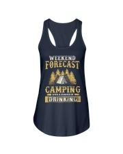 Camping Drinking Ladies Flowy Tank thumbnail
