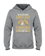 Camping Drinking Hooded Sweatshirt thumbnail