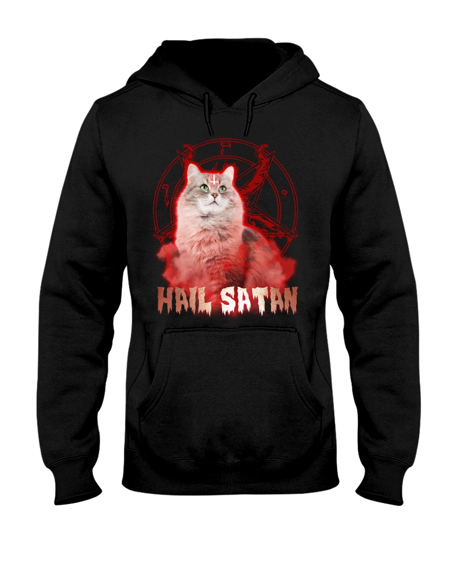 Hail satan Hooded Sweatshirt