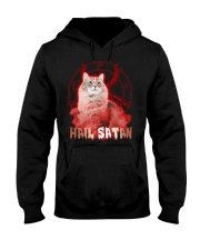 Hail satan Hooded Sweatshirt front