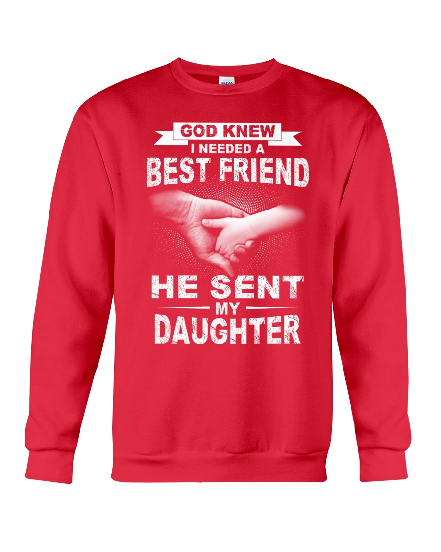 I needed a best friend Crewneck Sweatshirt