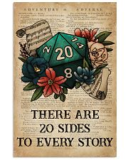 Game There Are 20 Sides To Every Story 16x24 Poster front