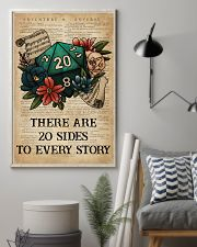 Game There Are 20 Sides To Every Story 16x24 Poster lifestyle-poster-1