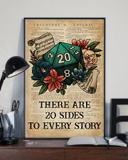 Game There Are 20 Sides To Every Story 16x24 Poster lifestyle-poster-2