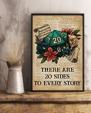 Game There Are 20 Sides To Every Story 16x24 Poster lifestyle-poster-3