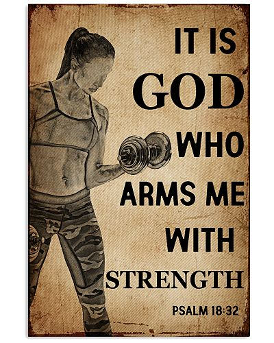 Fitness It Is God Who Arms me