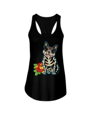 Frenchie Ladies Flowy Tank front