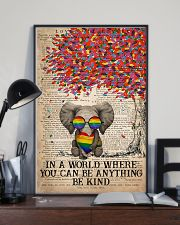 LGBT Be Kind 16x24 Poster lifestyle-poster-2