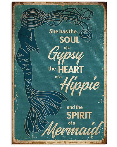 mermaid She Has The Soul Of A Gypsy