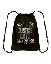 Justice cats Drawstring Bag thumbnail