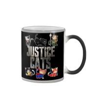 Justice cats Color Changing Mug thumbnail