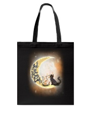 I love you to the moon Tote Bag thumbnail