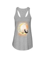I love you to the moon Ladies Flowy Tank thumbnail