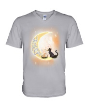 I love you to the moon V-Neck T-Shirt thumbnail