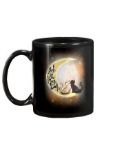 I love you to the moon Mug back